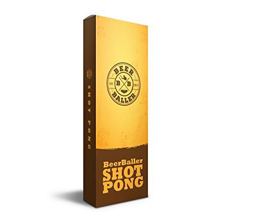 BeerBaller® Shot Pong Cherry – Beer-Pong als Shot Version! | TRINKSPIEL NEUHEIT 2020! | Ideal für Partys, Vorglühen, Festival, JGA oder als Geschenkidee - 9