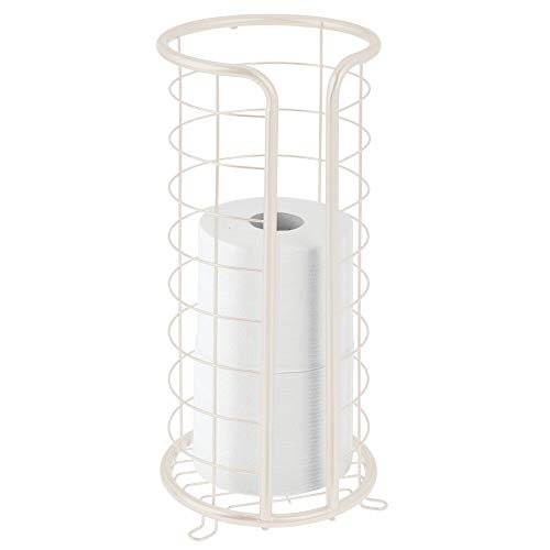Top 10 best selling list for cream free standing toilet roll holder