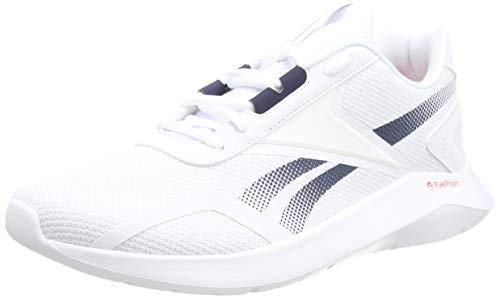 Reebok Męskie buty do biegania Energylux 2.0, Ftwr biała kolegiata granatowa wektor czerwony - 40 EU