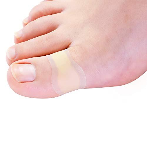 Bukihome Blasenpflaster, [15x] Gel Pflaster für Blasen an Den Füßen, heilende Blisterkissen für Zehen und Finger, Wasserdicht