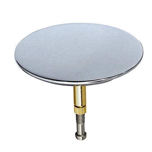 Desagüe del fregadero del baño orificio de drenaje baño de borrado de disco placa de cubierta del enchufe pulido