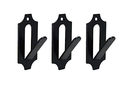 Veradura - 3 Pack Of European Skull Wall Mount Bracket Hangers for Deer Mule Antelope Coyote and Small Game Animals - Complete with simple & easy Installation Kits - Suitable for Indoor or Outdoor Use