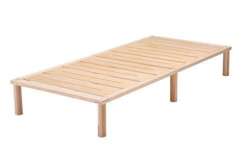 Gigapur G1 26882 Bett | Bettgestell mit Lattenrost | belastbar bis 195 kg je Element | Holzbett 90 x 200 cm