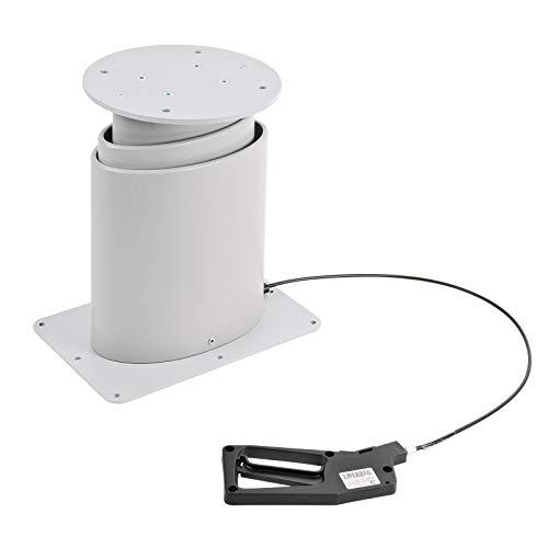 wamovo Einsäulen Hubtisch | stufenlos | höheneinstellbar | 310-670mm | Schlafnutzung