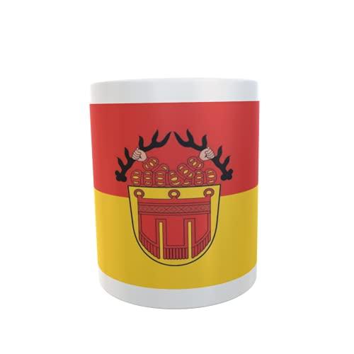 U24 Tasse Kaffeebecher Mug Cup Flagge Tübingen