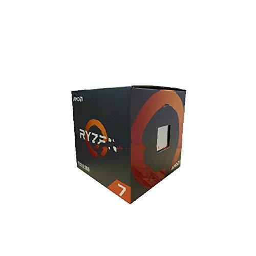 SUNHUALIN Procesador Nuevo AMD Ryzen 7 2700X R7 2700X 3,7 GHz Ocho núcleos Sinteen Thread 16M 105W CPU Procesador Yd270Xbgm88