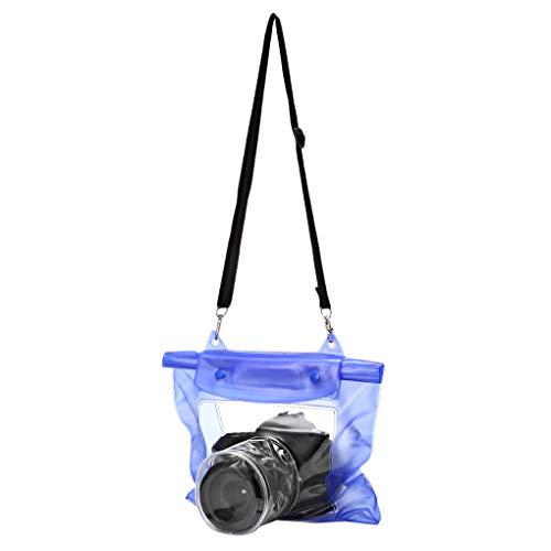 ユニバーサル防水カメラケースデジタル一眼レフカメラ水中収納ドライバッグ透明 Pvc ポーチ