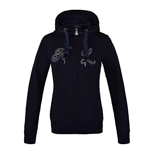 Kingsland Sweatjacke KLulrika für Damen, Swater, Hoodie, Jacke Farbe Navy, Größe XL