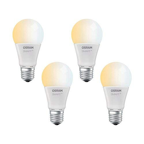 Osram SMART+ - 4x Ampoule LED Connectée E27 Zigbee - Equivalent 60W...