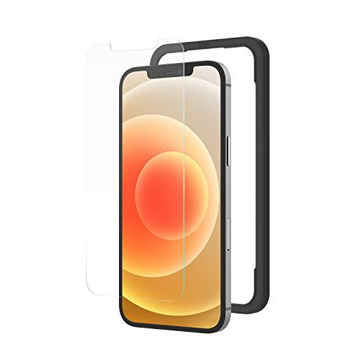 NIMASO iPhone12 / iPhone 12 pro ガラスフィルム 液晶保護 フィルム 【ガイド枠付き】