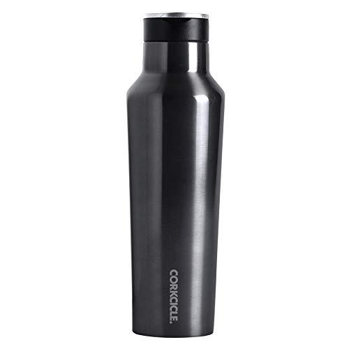 SPICE OF LIFE(スパイス) 水筒 ステンレスボトル ストローキャップ付き SPORT CANTEEN CORKCICLE ガンメタル 保冷 保温 真空断熱 2020EGM