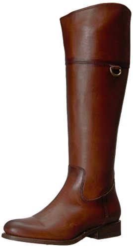 FRYE Women's Jayden D Ring Riding Boot, Redwood, 6 M US