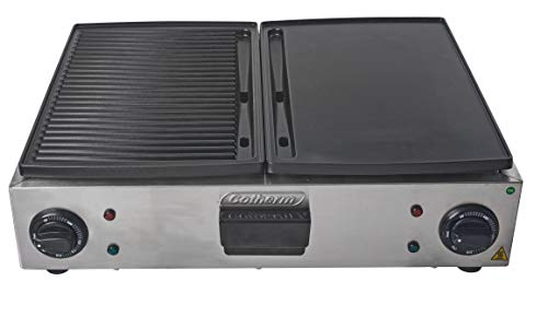 Chapeira Double Grill 2800 W 220 V Cotherm Inox