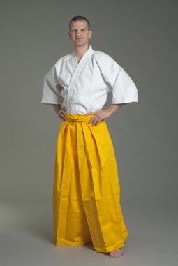 Ju-Sports Herren Hakama, Gelb, 180