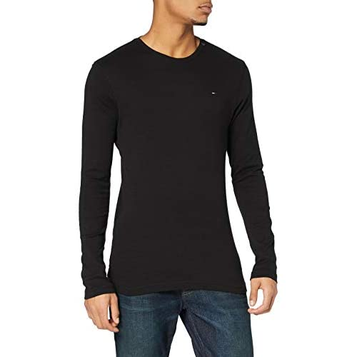 Tommy Jeans Men's Original Rib Long Sleeve Top