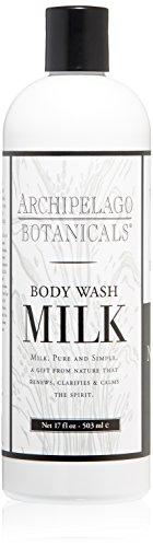 Archipelago Botanicals Milk Body Wash, 17 Fl Oz