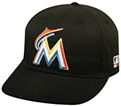 OC Sports MLB-300 MLB Youth MLB Replica Cap - Marlins, Home