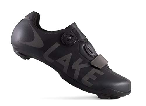 Lake Cycling CXZ 176 Winter Road Shoe (Black, Numeric_14)