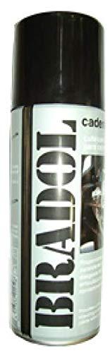BRADOL 400 ml. spray. Lubricante especial para cadenas con retenes. Grasa fluida.