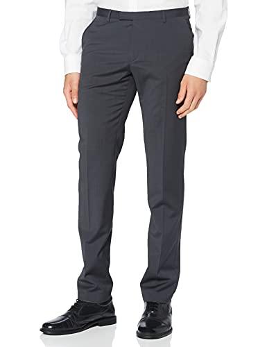 BUGATTI 788400-99770 Pantaloni Eleganti, Grigio (Grau 57), 60 Uomo