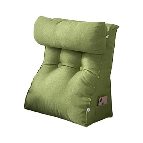 Almohada de cuña con soporte para la cabeza – Cojín de espuma viscoelástica con soporte postcirugía, sueño, lectura, reflujo ácido, piernas, rodilla, alivio del dolor de espalda