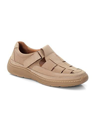 Walbusch Herren Komfort Bäcker Schuh einfarbig Taupe 44