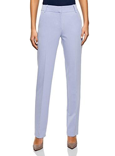 oodji Collection Mujer Pantalones Clásicos Rectos
