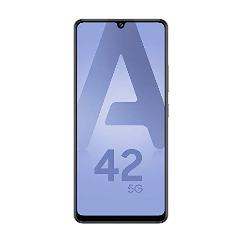 "SAMSUNG Galaxy A42 Smartphone portable Débloquée 5G (Ecran : 6,6"" - Android 10) - Gris"