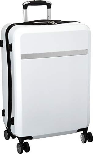 Calvin Klein Libertad 2.0 Hardside Spinner Gepäck mit TSA-Schloss, weiß (Weiß) - LH418LT5