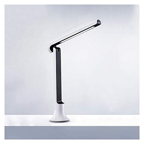 Lámpara de noche Lámpara de escritorio, Luz de escritorio LED con 3 modos de iluminación y lámpara de escritorio de mesa, regulable con puerto de carga USB, control plegable y táctil Luz de escritorio