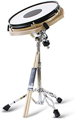 HXGL-Trommel Drum Drum Set für übungs-Anf er-Einsteiger (Farbe   Weiß Größe   Dumb Drum+Bracket)