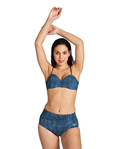 ARENA Bodylift Cleopatra Bikini Donna Coppa B, Denim/Blu, 42