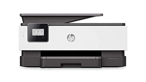 HP OfficeJet 8012 - Impresora multifunción tinta, color, Wi-Fi, copia, escanéa, gris, compatible con Instant Ink (1KR71B)