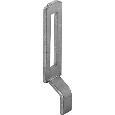 Prime-Line Products A 148 Sliding Screen Door Latch Strike, Adjustable, Steel, 2-Pack