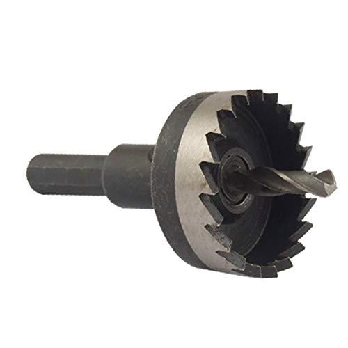 X-DREE 32mm Cutting Dia Tres vástago plano Metal agujero Sierra cortador (32 mm de diamètre de coupe en métal avec 3 plate scie cloche
