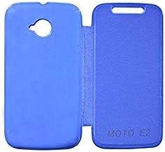 covernew flip cover for motorola moto e (2nd gen) - xt1506 - blue