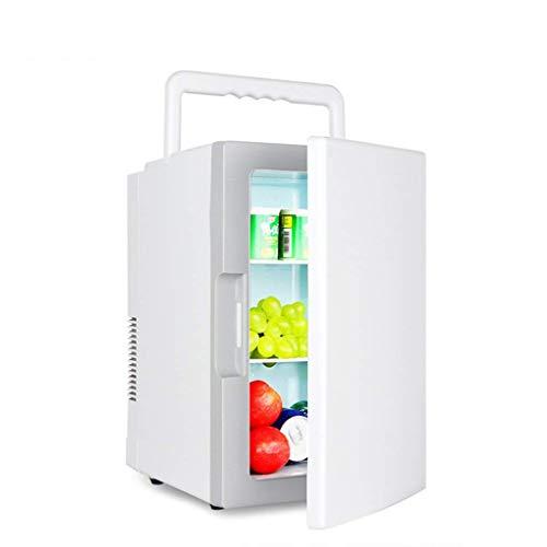 XUSHEN-HU Refrigerador de coches 18L de doble núcleo de coches Mini Home Refrigerador dual del coche Uso Refrigeración miniatura Caja de almacenamiento de Refrigeración Mini
