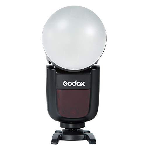 GodoxAK-R11ドームディフューザーGodoxH200R&V1&AD200Pro&AD200フラッシュなど対応