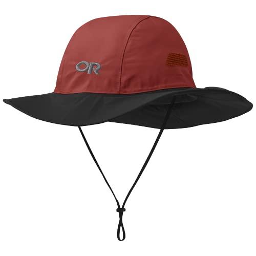 Outdoor Research Seattle Sombrero Rot, Gore-Tex Cap und Hüte, Größe M - Farbe Mars - Black