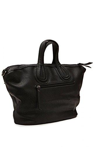 Maestro Damen Tasche Handtasche, Farbe: Schwarz, Größe: One Size