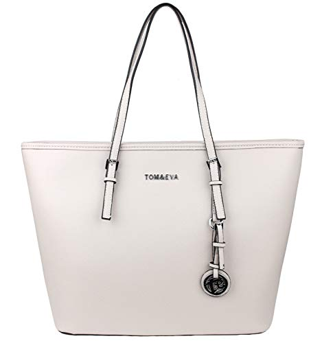 Tom & Eva Shopper Tasche Damen Beige Jet Set Travel