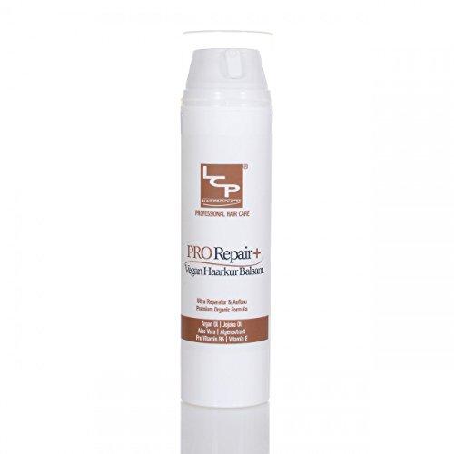 LCP Hairproducts Haarkur Haarmaske Balsam, Pflege & Reparatur bei strapaziertem Haar Vegan, 200 ml