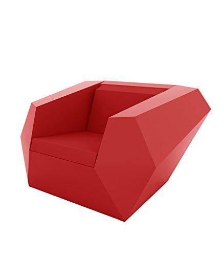 Vondom Resteve Faz Butaca Lacado Rojo 54001F 24 kg