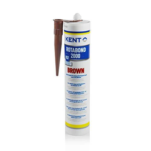 Kent Rotabond 2000 Dichtstoff Klebstoff Spezialkleber braun dauerelastisch geruchslos ohne Silikon 290 ml Kartusche