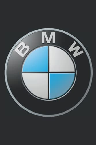 BMW Notebook: Minimalist Composition Book   100 pages   6' x 9'   Collage Lined Pages   Journal   Diary   For Students, Teens, and Kids   For School, College, University, School Supplies