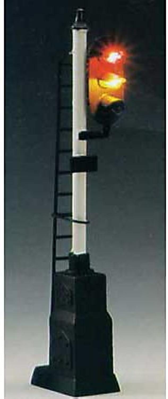mejor marca HO Block Signal, 3 3 3 Light w Relay Box by Model Power  Venta al por mayor barato y de alta calidad.