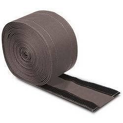 """Electriduct 4"""" SafCord Carpet Cord Cover Strip Secure and Hide Floor Cables and Wires - 30 Feet - Gray   Works only on Commercial Carpet, Barber and Loop Style Rugs"""
