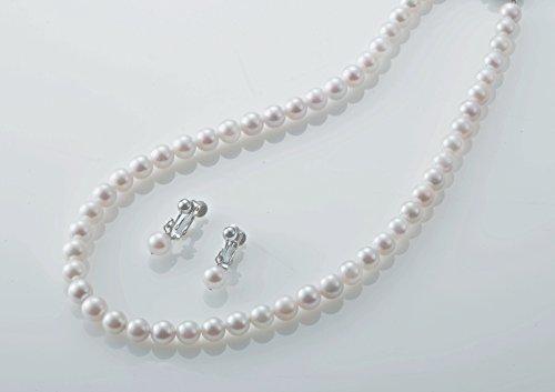 あこや本真珠ネックレス2点セット 結婚式 パール 真珠 大特価 ネックレス パールネックレス 入学 入社 母の日 クリスマス プレゼント