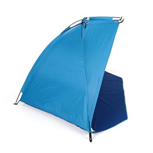 HHOSBFSS Deportes Al Aire Libre Azul Playa Playa Camping Tienda, 1-2 Personas Pesca Picnic Playa Parque Accesorios Al Aire Libre (Color : Blue)