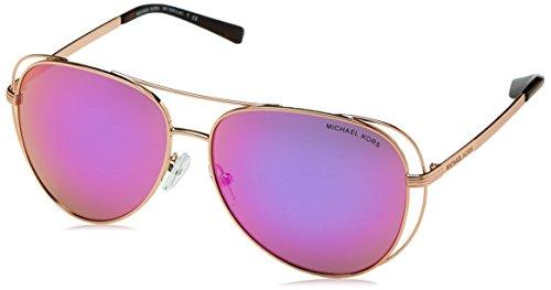 Michael Kors 0MK1024 Gafas, Rose Gold/Tone 11944x, 58 Unisex-Adulto